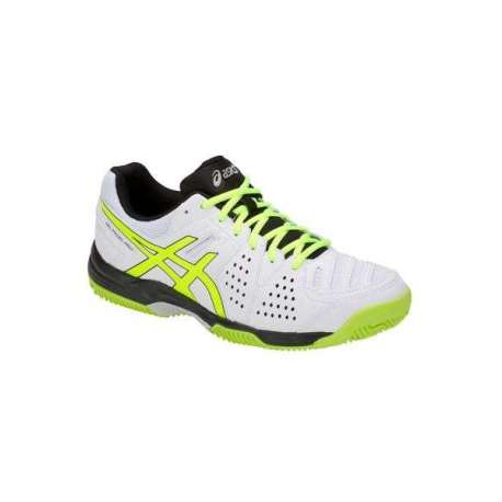ZAPATILLAS GEL-PADEL PRO 3 SG E511Y - 100 WHITE/FLASH YELLOW
