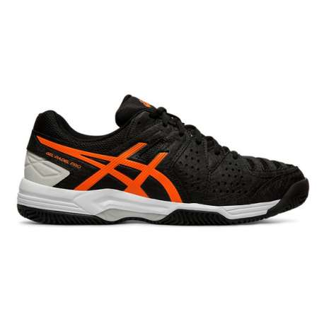 ZAPATILLAS DE PADEL ASICS GEL-PADEL PRO 3 SG E511Y - 001 BLACK/FLASH CORAL