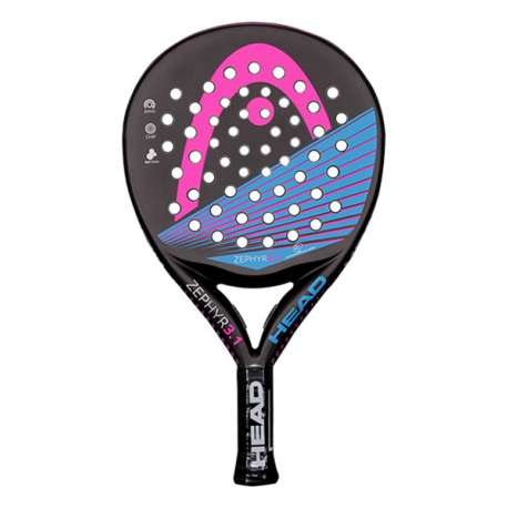 PALA DE PADEL HEAD GRAPHENE TOUCH ZEPHYR, WITH CBR