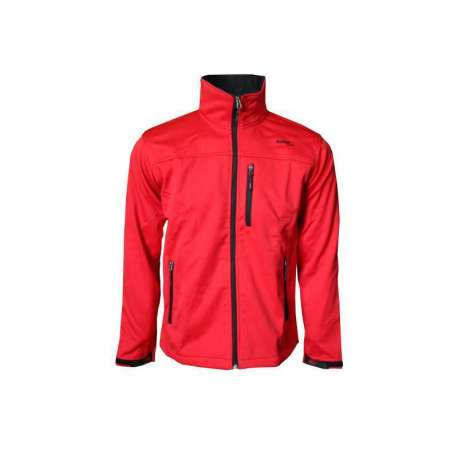 SOFTSHELL JACKET SOFTEE PIRINEO COLOR ROJO