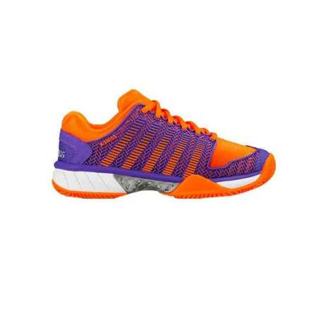 ZAPATILLAS K-SWISS HYPERCOURT EXP HB WOMAN NARANJA LILA 93378522