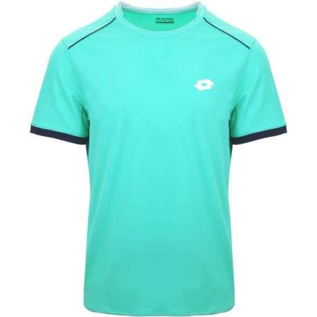 CAMISETA LOTTO COURT II T1812 BLU SCU/BLU ML